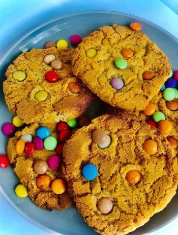 Best Ever Smarties Cookies