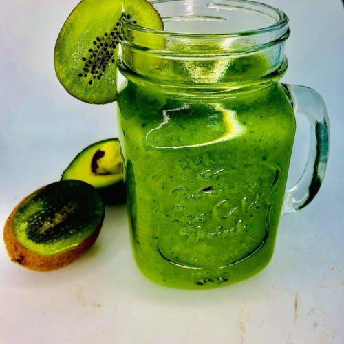 Healthiest 6-Greens Green Smoothie