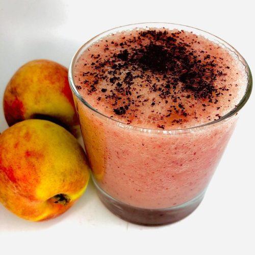 2-Ingredient Refreshing Peach Smoothie