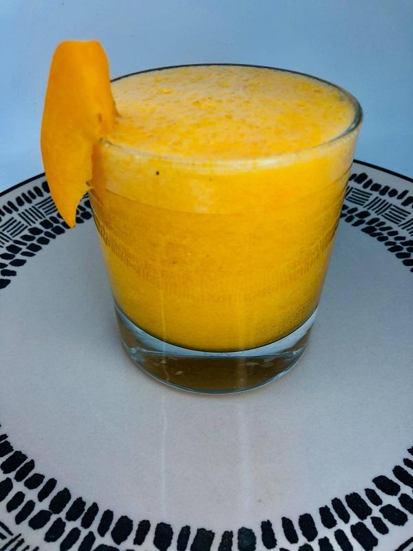 2-Ingredient Apricot Smoothie