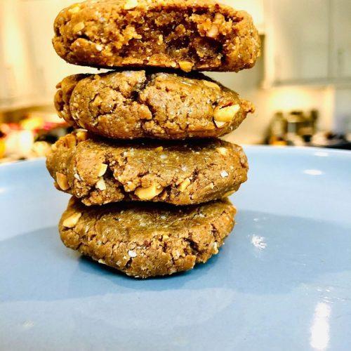 3-Ingredients Keto Cookies