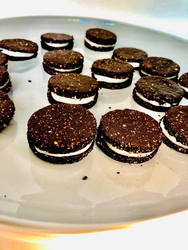Homemade Gluten Free Oreo Cookies