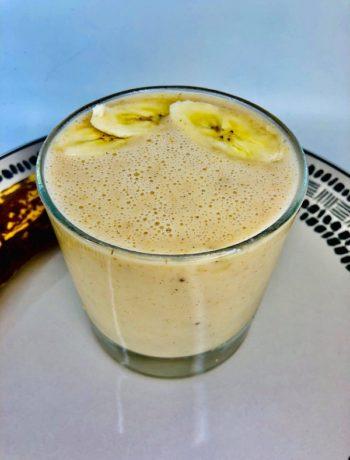 3-IngredientsPeanut Butter Banana Smoothie