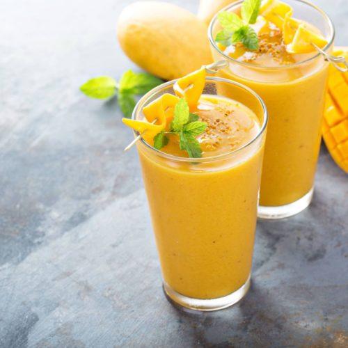 2-Ingredients Refreshing Mango Smoothie