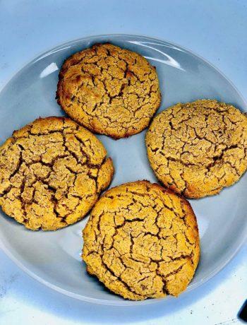 5-Ingredients Vegan Keto Cookies