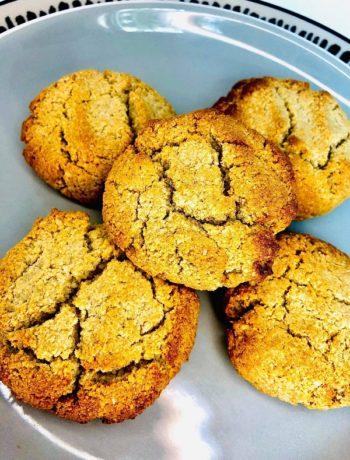 Easy Honey Cookies (GF Oil-free)