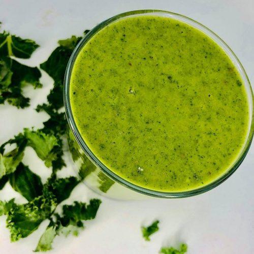 Easy Kale Avocado Smoothie