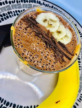 Easy Chocolate Peanut Butter Smoothie