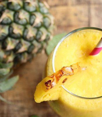 3-Ingredients Pineapple Smoothie