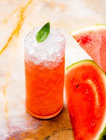 3-Ingredients Watermelon Smoothie