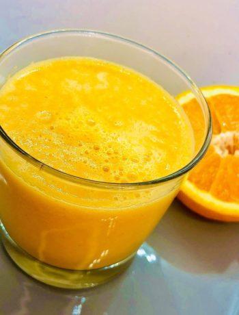 Carrot Orange & Ginger Smoothie