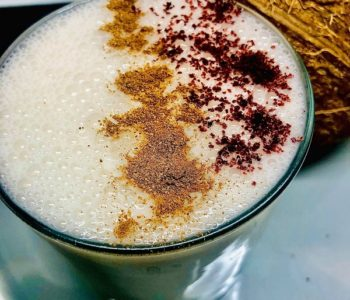 3-Ingredients Coconut Banana Smoothie