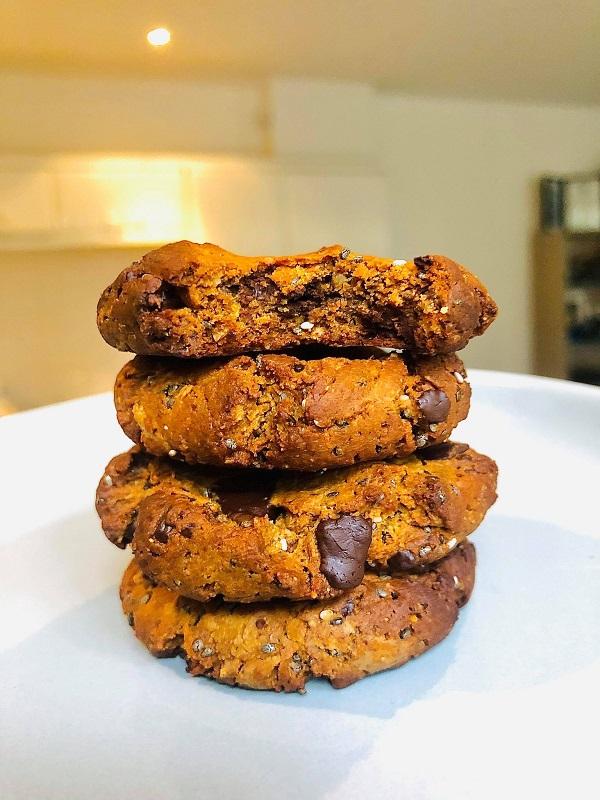 Easy Healthy Vegan Protein Cookies