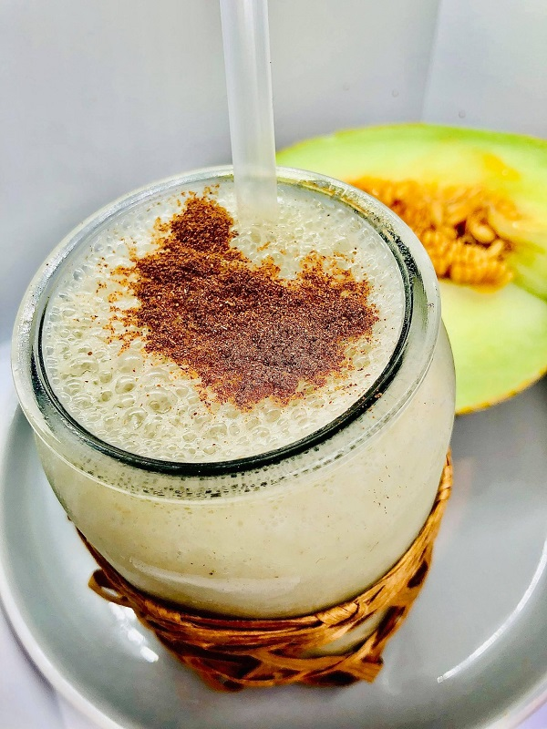 Easy Healthy Melon Smoothie