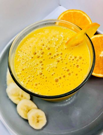 Anti-Inflammatory Orange & Turmeric Smoothie