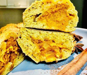 Easy Stuffed Pumpkin Cookies