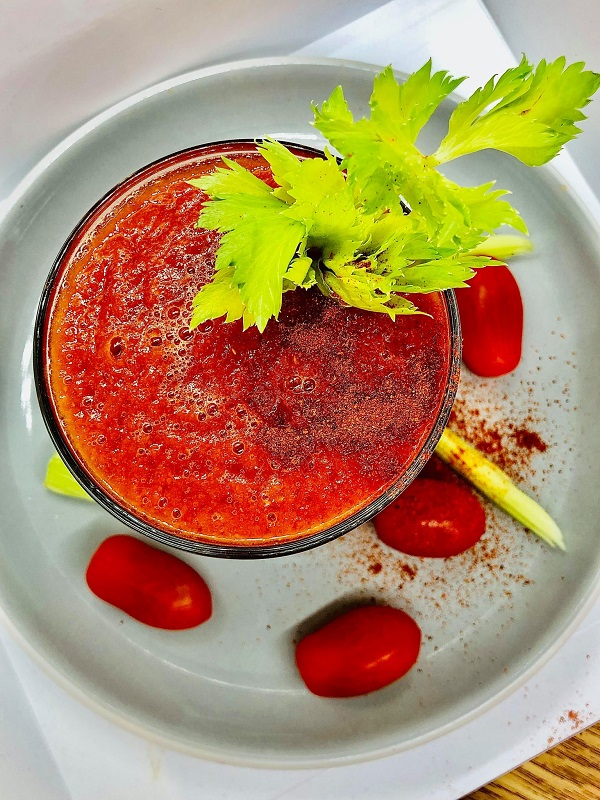 Easy Bloody Merry Smoothie